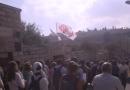 Milhares de peregrinos com Jesus em caminho para Jerusalém