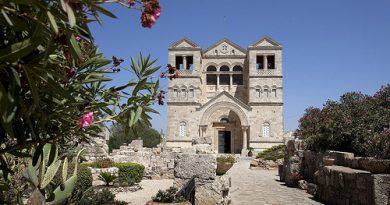 O lugar da transfiguração de Jesus